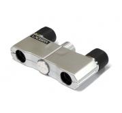 4x10 LACERTA mikro Dvogled - srebrna