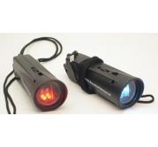 Baterijska Lampa Crvena/Bela